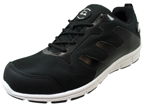 MENS GROUNDWORK STEEL TOE CAP SAFTEY ULTRA LIGHT WEIGHT LACE WORK TRAINER SHOES